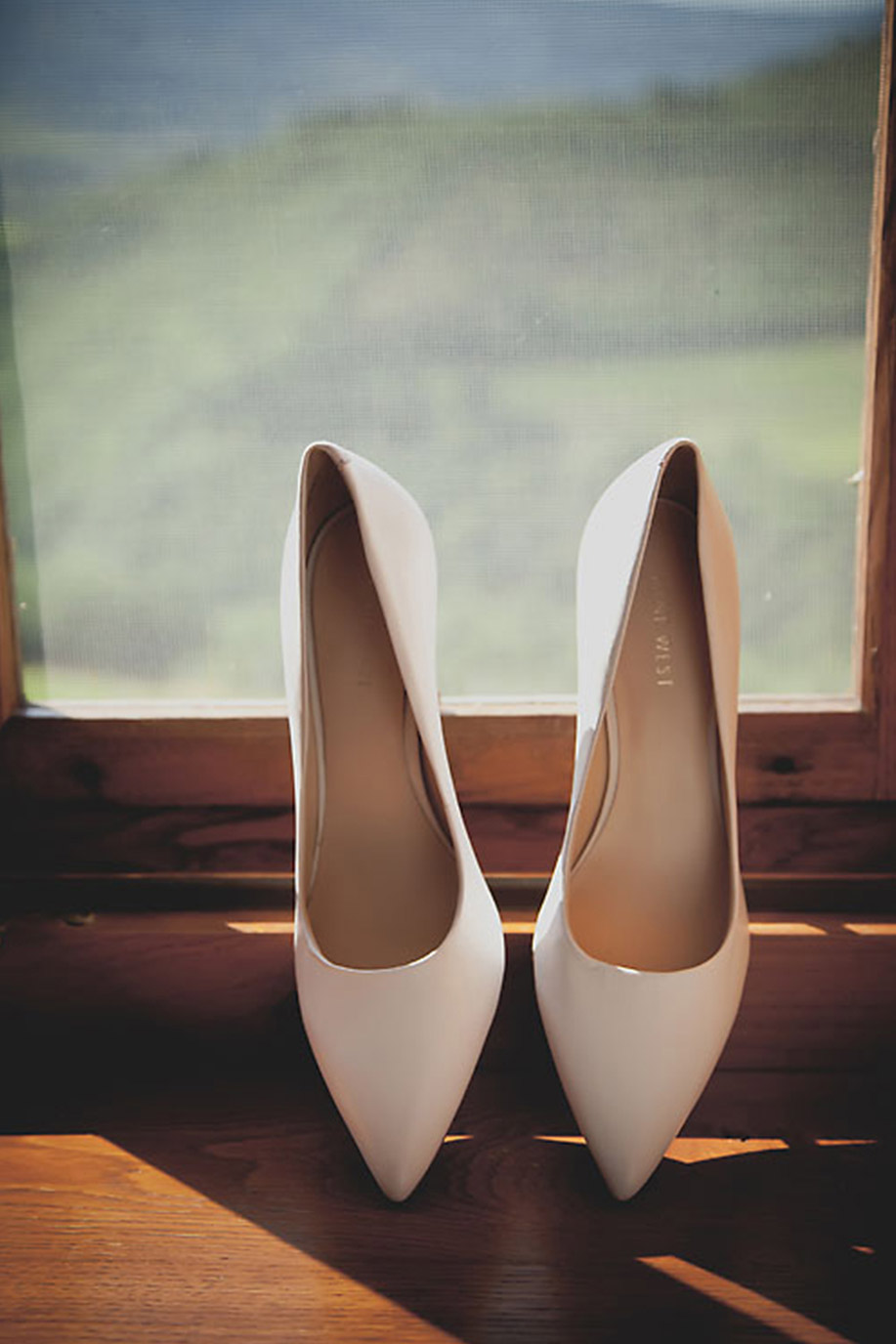 Ivory Nine West Wedding Pumps
