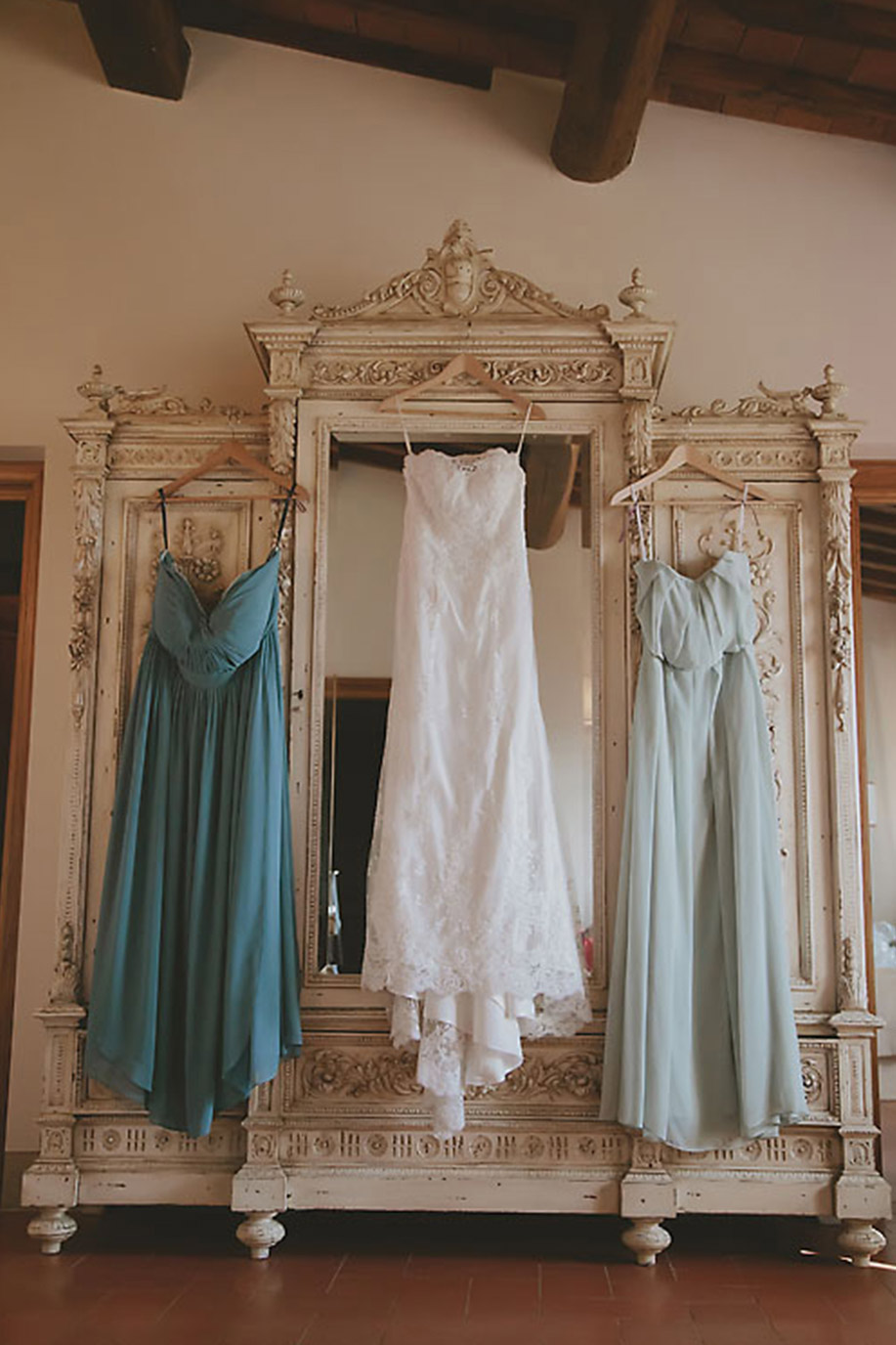 Italian Wedding and Bridesmaid Dresses