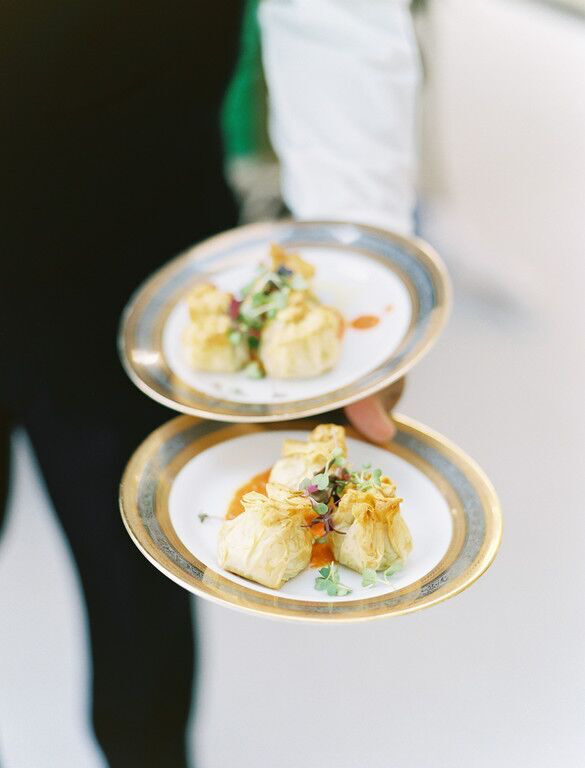 Food glorious food wedding hors d'oeuvre